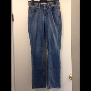 "Levi's 525 ""perfect waist "" straight size 4"